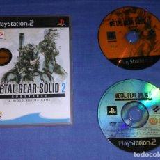 Videojuegos y Consolas: JUEGO PS2 METAL GEAR SOLID 2 SUBSTANCE - PAL ESPAÑA. Lote 134328931