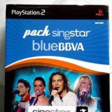 Videojuegos y Consolas: PACK SINGSTAR BLUE BBVA OPERACION TRIUNFO - SONY PS2 - PAL - PRECINTADO . Lote 86576696