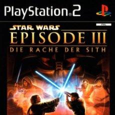 Videojuegos y Consolas: PLAYSTATION 2 GAME STAR WARS III - LA VENGANZA DE LOS SITH - JUEGO PS2 . Lote 86720312