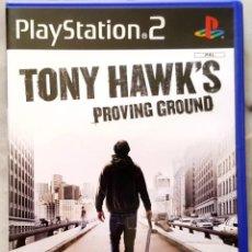 Videojuegos y Consolas: PLAYSTATION 2 GAME TONY HAWK'S PROVING GROUND - PS2 PLAY STATION. Lote 86723576