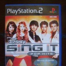 Videojuegos y Consolas: PS2 DISNEY SING IT POP HITS - PAL ESPAÑA PLAYSTATION 2 . Lote 86724124