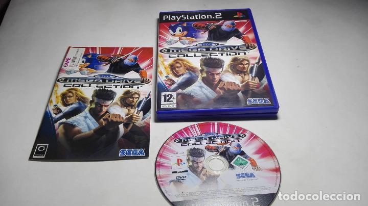 Sega mega drive collection ( playstation 2- pal - Sold