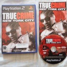 Videojuegos y Consolas: TRUE CRIME NEW YORK CITY PLAYSTATION 2. Lote 87181212