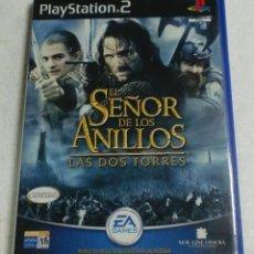 Videojuegos y Consolas: EA GAMES - PLAY STATION 2 - EL SEÑOR DE LOS ANILLOS. LAS DOS TORRES. Lote 87312812