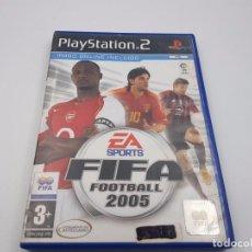 Videojuegos y Consolas: FIFA SOCCER FOOTBALL 2005 ESPAÑA PAL SONY PLAYSTATION PS2.COMBINO ENVÍO. Lote 87318084
