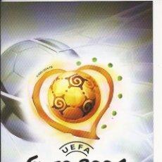Videojuegos y Consolas: MANUAL DE PS2 - UEFA EURO 2004 PORTUGAL - . Lote 89093176