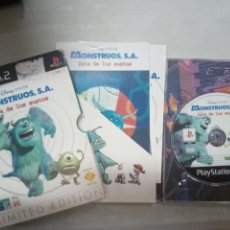 Videojuegos y Consolas: MONSTRUOS SA ISLA DE LOS SUSTOS LIMITED PLAYSTATION 2 PLAY STATION - PAL ESPAÑA. Lote 146087613