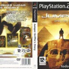 Videojuegos y Consolas: CARATULA PS2 - JUMPER - GRIFIN'S STORY. Lote 89306892