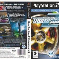 Videojuegos y Consolas: CARATULA PS2 - NEOFOR PEED - UNDERGROUND. Lote 89307704