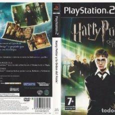 Videojuegos y Consolas: CARATULA PS2 - HARRY POTTER Y LA ORDEN DEL FÉNIX. Lote 89307868
