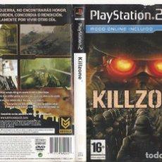 Videojuegos y Consolas: CARATULA PS2 - KILLZONE. Lote 89308092