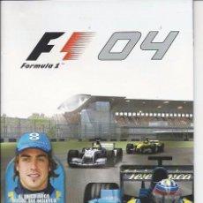 Videojuegos y Consolas: MANUAL PS2 - FORMULA 1 -04. Lote 89309156