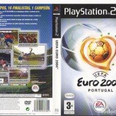 Videojuegos y Consolas: CARATULA PS2 - UEFA EURO 2004 PORTUGAL - . Lote 89330244