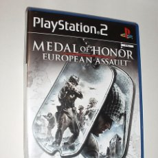 Videojuegos y Consolas: JUEGO CONSOLA PLAYSTATION PS2 MEDAL OF HONOR EUROPEAN ASSAULT. Lote 90216496