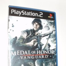 Videojuegos y Consolas: JUEGO CONSOLA PLAYSTATION PS2 MEDAL OF HONOR VANGUARD,PARACAIDISTAS. Lote 90216544