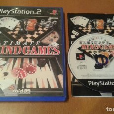 Videojuegos y Consolas: PLAYSTATION 2 - ULTIMATE MIND GAMES ( PAL /ESPAÑA ). Lote 237030490