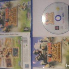 Videojuegos y Consolas: WORMS FORTS UNDER SIEGE PS2 PLAYSTATION 2 PAL-ESPAÑA COMPLETO. Lote 91372305