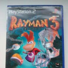 Videojogos e Consolas: RAYMAN 3 PARA PS2 - PORTADA HOLOGRÁFICA. Lote 91493142