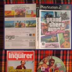Videojuegos y Consolas: JUEGO GRAND THEFT AUTO VICE CITY STORIES PS2. Lote 92855810
