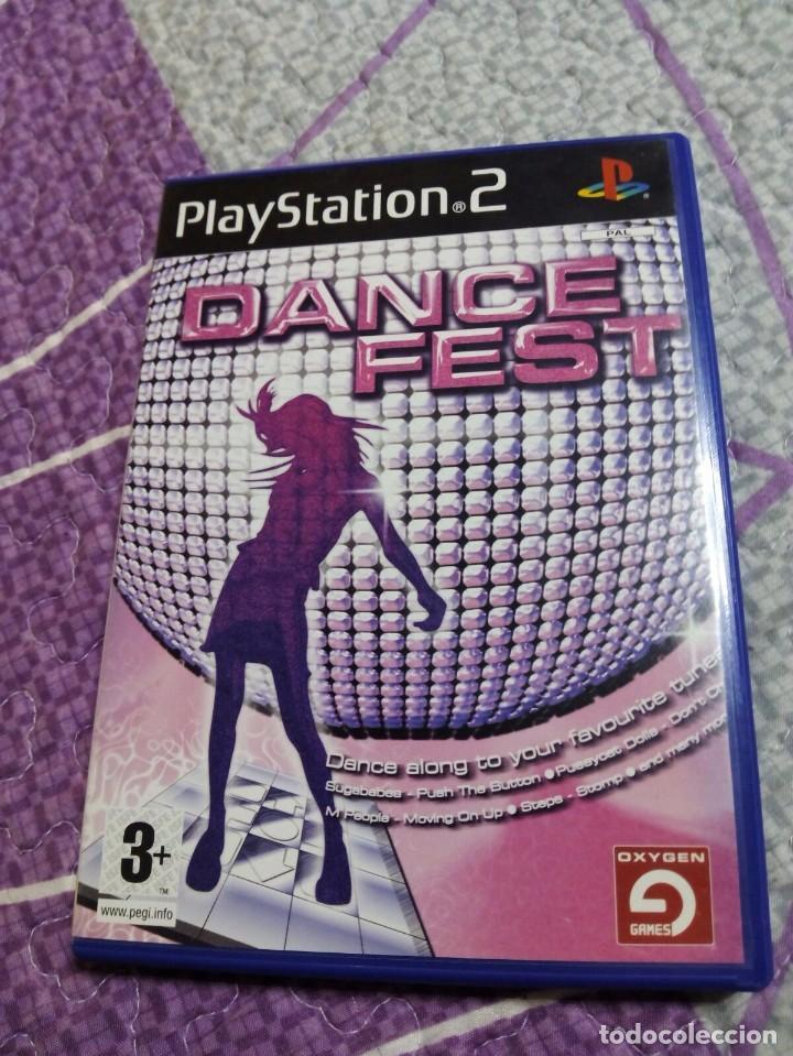 JUEGO PS2. DANCE FEST (Juguetes - Videojuegos y Consolas - Sony - PS2)
