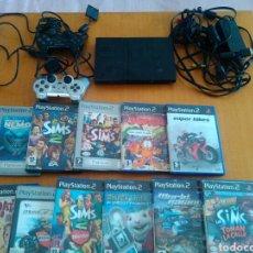 Videojuegos y Consolas: PLAY STATION 2 CON ACCESORIOS Y ONCE JUEGOS. Lote 173523154