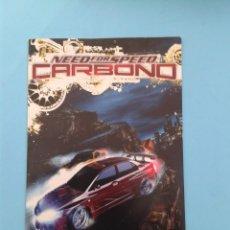 Videojuegos y Consolas: NEED FOR SPEED CARBONO (INSTRUCCIONES). Lote 93820520