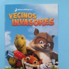 Videojuegos y Consolas: VECINOS INVASORES (INSTRUCCIONES). Lote 93820740
