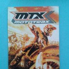 Videojuegos y Consolas: MTX MOTOTRAX (INSTRUCCIONES). Lote 93824565