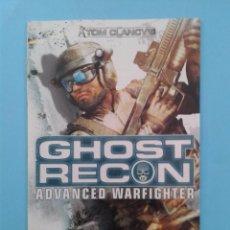 Videojuegos y Consolas: GHOST RECON (INSTRUCCIONES). Lote 93824680