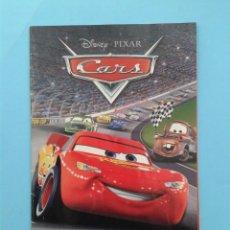 Videojuegos y Consolas: CARS (INSTRUCCIONES). Lote 93826745