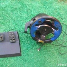 Videojuegos y Consolas: VOLANTE Y PEDALES DRIVING FORCE. LOGITECH. PARA PS2, PLAYSTATION 2. Lote 94114820