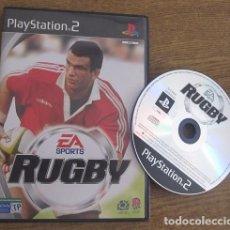 Videojuegos y Consolas: RUGBY JUEGO PLAYSTATION 2 PAL VINTAGE EA SPORTS 2001 SIN LIBRO DE INSTRUCCIONES. Lote 94549175