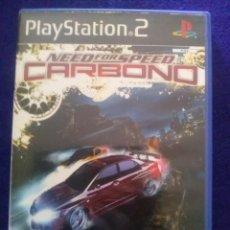 Videojuegos y Consolas: PS2..NEED FOR SPEED CARBONO...ESTUCHE VACIO CON INSTRUCCIONES.. Lote 95127755
