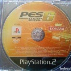 Videojuegos y Consolas: PS2 JUEGO PRO EVOLUTION SOCCER 6.....SOLO EL DISCO. Lote 95127943