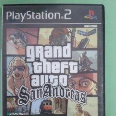 Videojuegos y Consolas: VIDEOJUEGO. GTA SAN ANDREAS. PS2. Lote 95227871