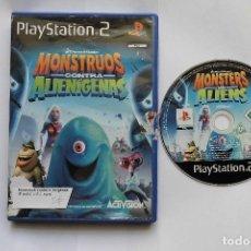 Videojuegos y Consolas: MONSTRUOS CONTRA ALIENIGENAS PLAYSTATION 2. Lote 95363583