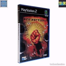 Videojuegos y Consolas: RED FACTION II / JUEGO PLAYSTATION 2 PLAY STATION PS2 / PAL / VOLITION TQH 2002. Lote 95685095
