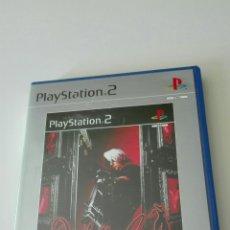 Videojuegos y Consolas: CAJA VACIA E INSTRUCCIONES DEVIL MY CRY PLATINUM PS2. Lote 95692246