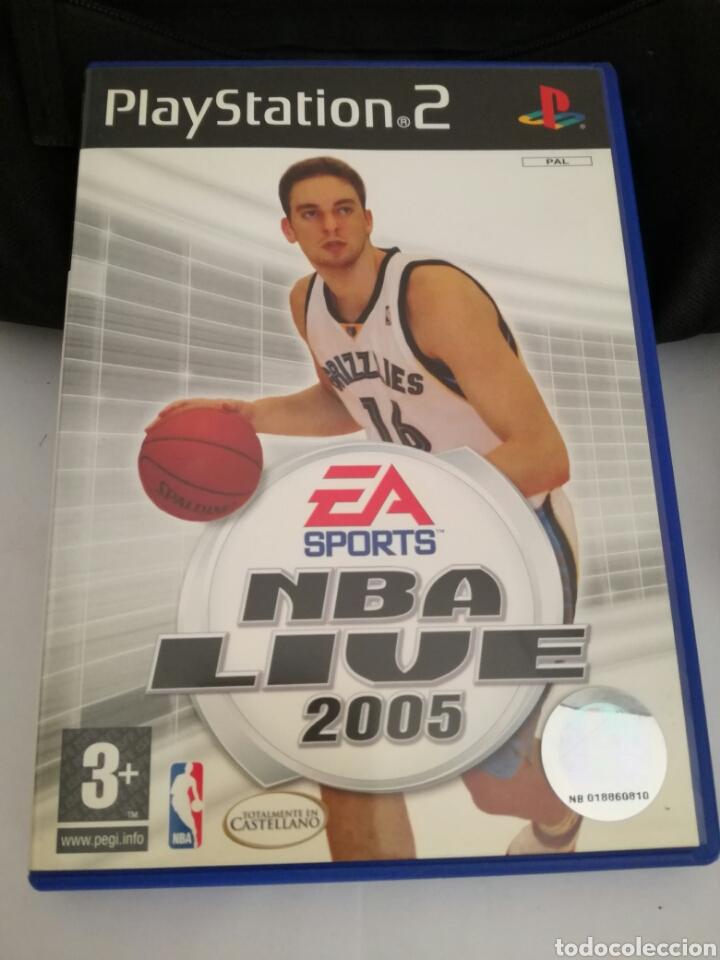 JUEGO PLAYSTATION 2. NBA LIVE 2005 (Juguetes - Videojuegos y Consolas - Sony - PS2)