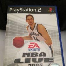 Videojuegos y Consolas: JUEGO PLAYSTATION 2. NBA LIVE 2005. Lote 96662031