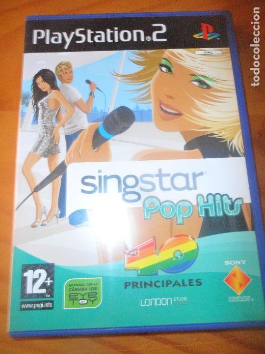 SINGSTAR POP HITS - PS2 PLAYSTATION 2 - (Juguetes - Videojuegos y Consolas - Sony - PS2)