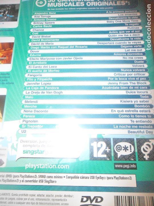 Videojuegos y Consolas: SINGSTAR POP HITS - PS2 PLAYSTATION 2 - - Foto 2 - 96855227