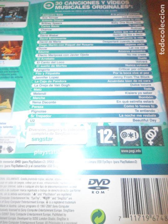 Videojuegos y Consolas: SINGSTAR POP HITS - PS2 PLAYSTATION 2 - - Foto 3 - 96855227