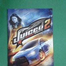Videojuegos y Consolas: JUICED 2 (SOLO MANUAL). Lote 96907855