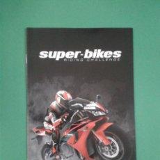 Videojuegos y Consolas: SUPER-BIKES (SOLO MANUAL). Lote 96908315