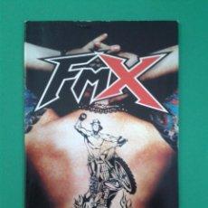 Videojuegos y Consolas: FMX (SOLO MANUAL). Lote 96908807