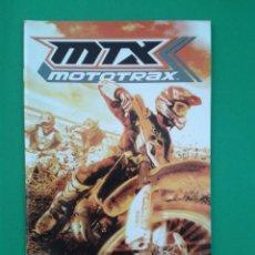 Videojuegos y Consolas: MTX MOTOTRAX (SOLO MANUAL). Lote 96909179