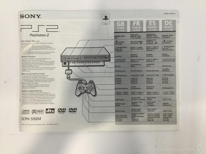 manual de instrucciones playstation 2 comprar videojuegos y rh todocoleccion net Instrucciones Para Abrir Puerta Instrucciones Sign