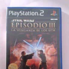 Videojuegos y Consolas: STAR WARS EPISODIO III LA VENGANZA DE LOS SITH. PS2. Lote 206391141