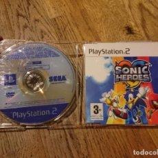 Videojuegos y Consolas: JUEGO PS2 SONIC HEROES EDICIÓN RECORTE PRENSA NO COMERCIALIZADO. Lote 98086675